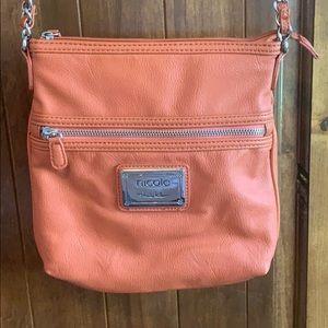 Burnt Orange Nicole crossbody purse